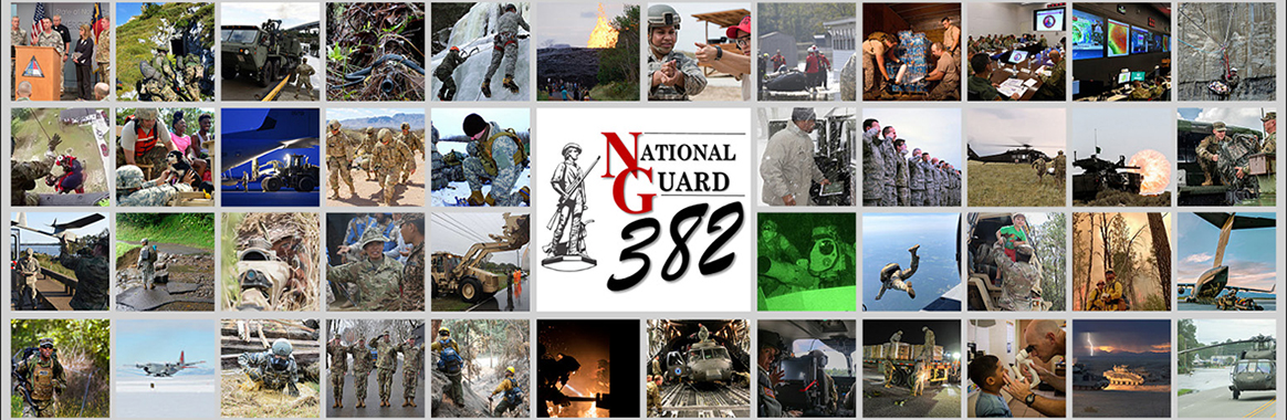 National Guard's 382nd birthday is Dec. 13