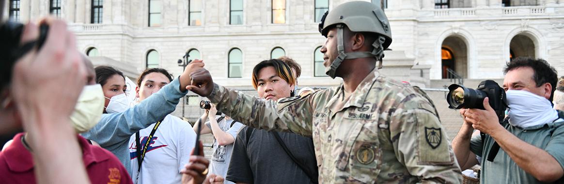 National Guard force surpasses Hurricane Katrina response
