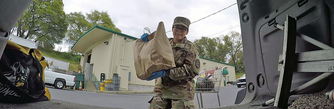 California National Guard distributes 50 million meals
