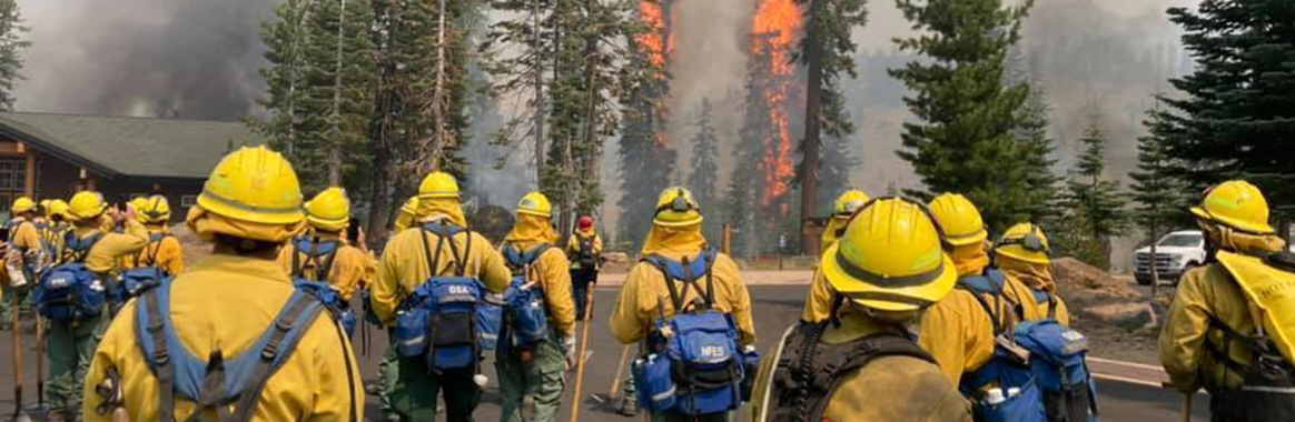 Cal Guard battling state's wildfires