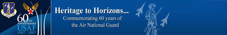 US Air Force / Air National Guard 60th Anniversary Banner Graphic