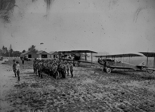 New York's 1st Aero Company in 1916