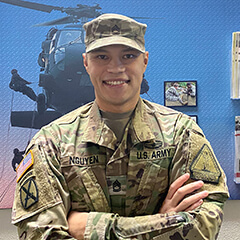Sgt. 1st Class Mike Nguyen