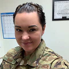 Senior Master Sgt. Kimberly Dishon