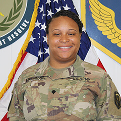 Spc. Tiffany Etheredge