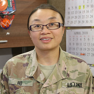Sgt. 1st Class Dawn Ho, 28th Infantry Division, Pennsylvania National Guard