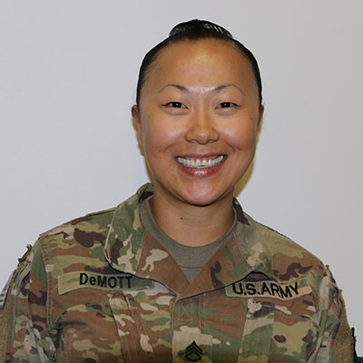 Staff Sgt. Adrienne DeMott, 28th Infantry Division, Pennsylvania National Guard