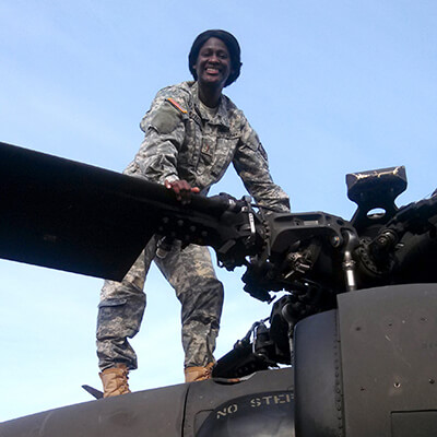 1st Lt. Lindsey Jefferies, North Carolina Army National Guard