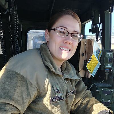 Sgt. Danielle Cornell, Wisconsin Army National Guard
