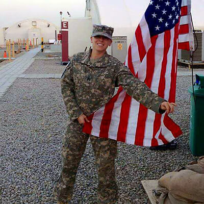 Staff Sgt. Alicia Midghall, Connecticut Army National Guard