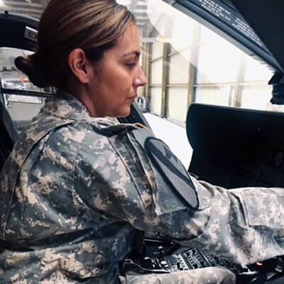 Warrant Officer 1 Samantha Palos, New Mexico Army National Guard