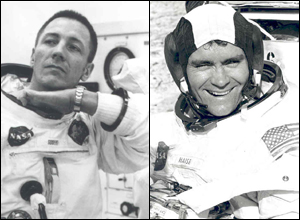 Former Air Guard pilots and Apollo 13 astronauts, John