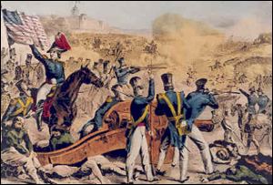 Battle of Cerro Gordo (Mex), April 17-18, 1847.