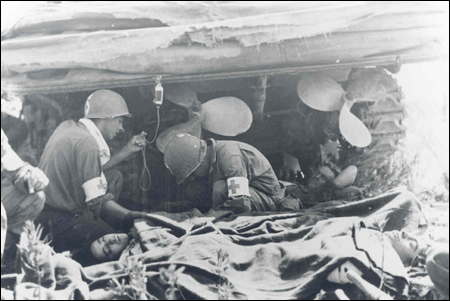Medics of the 36th Infantry Division