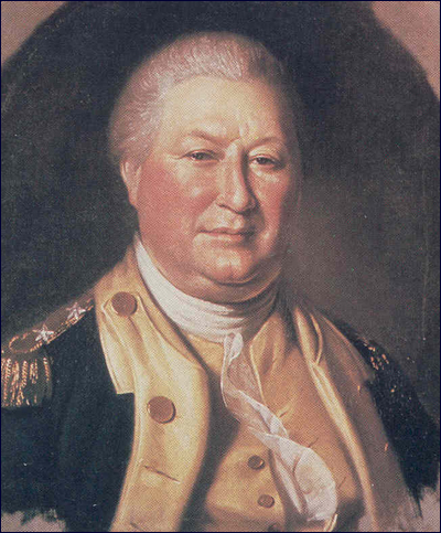 Colonel (shown as a Major General) William Smallwood.