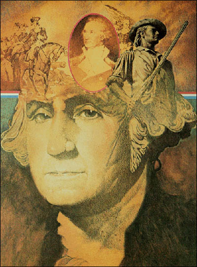 First President of the United States George Washington.