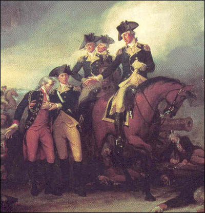 The Capture of the Hessians at Trenton.