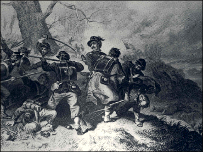 Death of Colonel (Edward D.) Baker