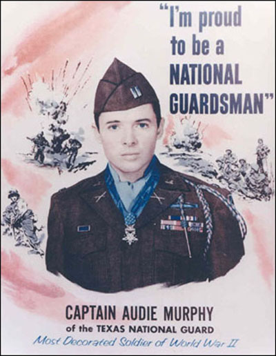 Captain Audie L. Murphy of the Texas National Guard