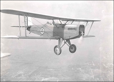 A Douglas O-2H of the 119th Observation Squadron, 1930
