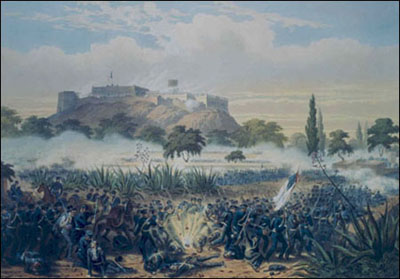 The Storming of Chapultepe-Quitman's Attack