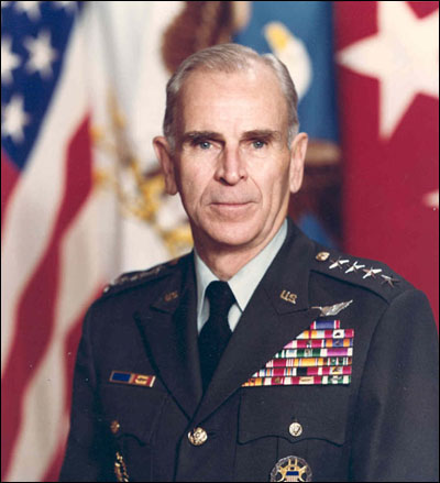 Chairman of the Joint Chief's of Staff General John W. Vessey