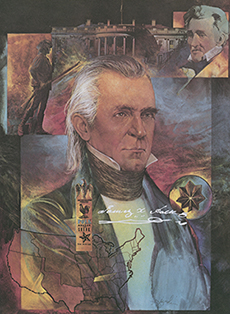 Major James Knox Polk