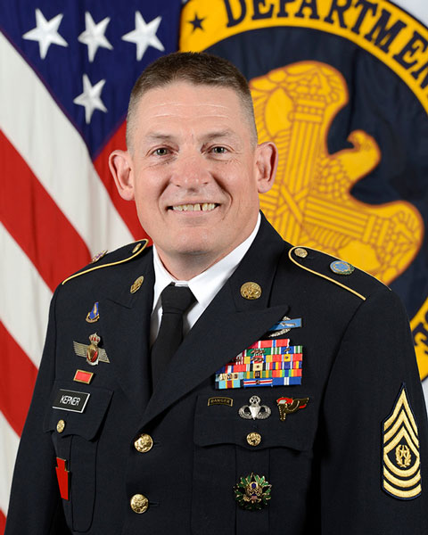 Command Sergeant Major Christopher Kepner, Senior Enlisted Advisor to the Chief, National Guard Bureau